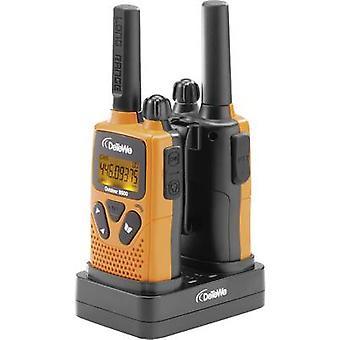 DeTeWe Outdoor 8500 208050 PMR handheld transceiver 2-delige set