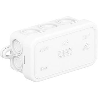 OBO Bettermann 2000005 Junction box (L x W x H) 80 x 43 x 34 mm Pure white (RAL 9010) IP55 1 pc(s)
