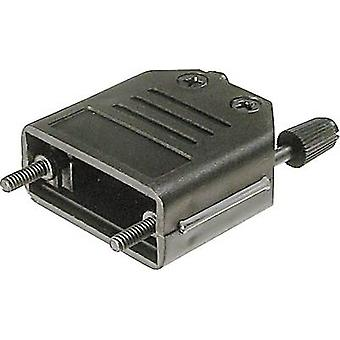 ASSMANN WSW A-FT 37 A-FT 37 D-SUB housing Number of pins: 37 Plastic 180 ° Black 1 pc(s)