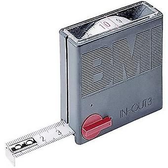 BMI 404351030 Tape measure 3 m Steel