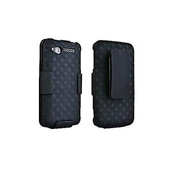 Verizon Shell Holster Combo pour HTC Merge ADR6325 - Noir