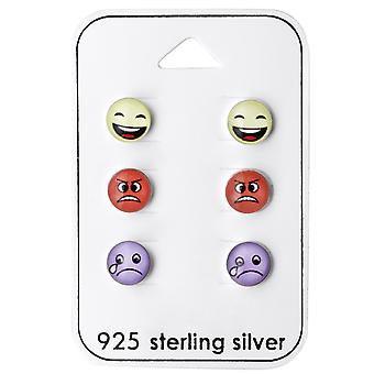 Emoji - 925 Sterling Silver Sets - W28467x