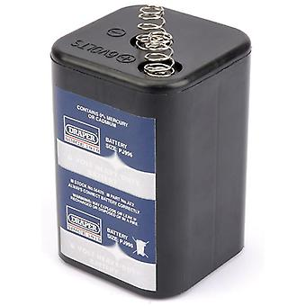 Draper 56429 caja de baterías de tamaño 6 x 6V Pj996