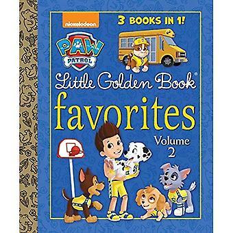 Paw Patrol liten gyllene bok favoriter, volym 2 (Paw Patrol) (liten gyllene bok)