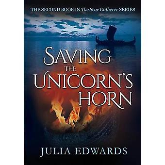 Opslaan van de eenhoorns hoorn door Edwards & Julia