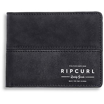 Rip Curl Arch RFID PU All Day Faux Leather Wallet in Black