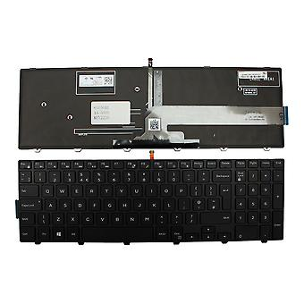 Dell 06DJRW Black Frame Backlit Black Windows 8 UK Layout Replacement Laptop Keyboard