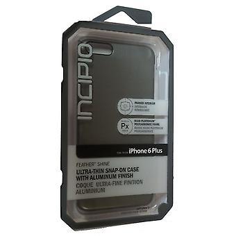Incipio Feather Shine Case for Apple iPhone 6 - Plus (Gunmetal)