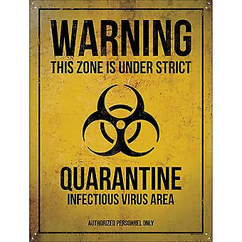 Grindstore Infectious Virus Area Tin Sign