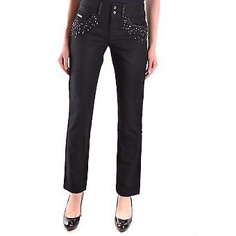 Ermanno Scervino Ezbc108010 Women's Black Denim Jeans