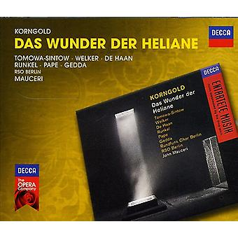 E.W. Korngold - Erich Wolfgang Korngold: Das Wunder Der Heliane [CD] USA import