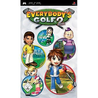 Everybody es Golf 2 PSP Game