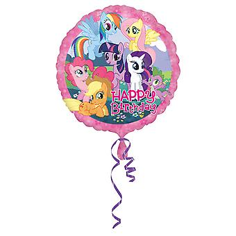 Amscan 18 Inch My Little Pony Circular Foil Balloon