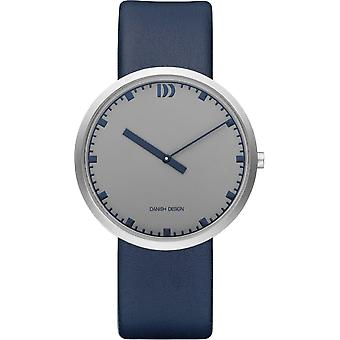 Tanskan design IQ22Q1212 pitkä tunti Mens Watch