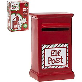 Elves Behavin Badly Elf Post Box