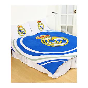 Real Madrid CF Pulse Duvet Cover and Pillowcase Set