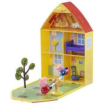 Peppa Pig Peppa hus & haven legesæt