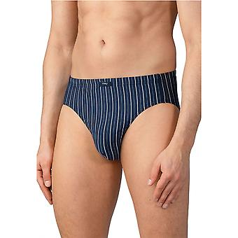 Mey 16619-668 Men's Taby Yacht Blue Striped Brief