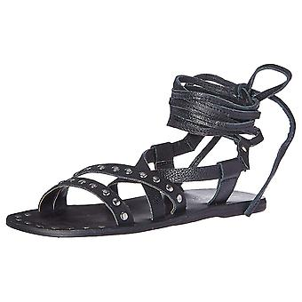 Charles by Charles David Womens Steeler Leather Open Toe Casual Gladiator San...