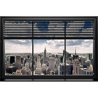 Poster - Studio B - New York - Windows Blind 36x24
