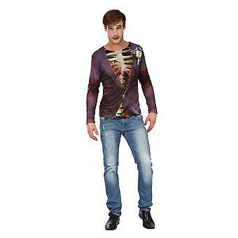 Bristol Novelty Homme Zombie Bridegroom 3D Print T-Shirt