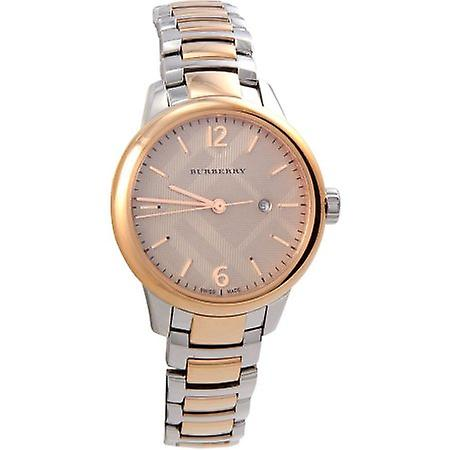 Burberry Bu10117 Women's Swiss Classic Two-tone Bracelet Watch