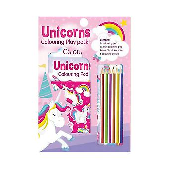 Unicorn Colouring Play Pack Activity Set