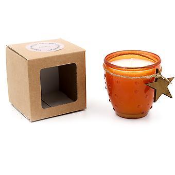 Koitti Candle Koitti cristal reciclado 9cm Orange