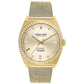 Jason hyde ruby-eigth Quartz Analog Woman Watch with JH20022 Stainless Steel Bracelet