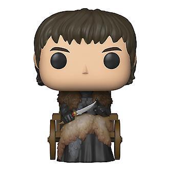 Game of Thrones Pop! Vinyl figurine Bran Stark made of plastic, by Funko, in gift box.