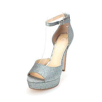 Jessica Simpson Womens Beeya Open Toe Ankle Strap D-orsay Pumps