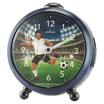 ATRIUM Children's Alarm Clock Alarm Clock Analog Quartz Football Boys A932-5 Scorer