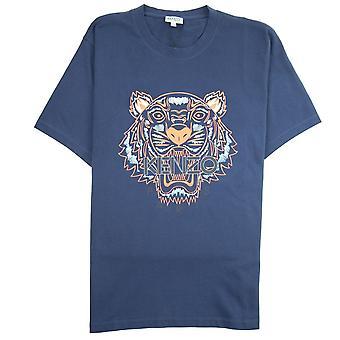 Kenzo Tiger T-shirt Navy/Orange