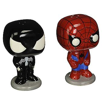 Spider-Man Pop! Shakers de sel et de poivre