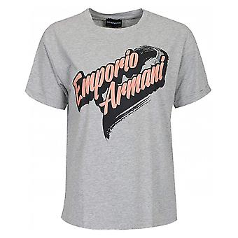 Emporio Armani Comic Logo Tshirt