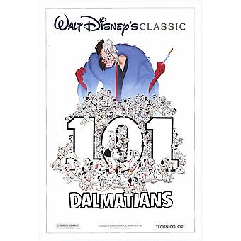 101 Dalmations (Double Sided) (1996) Original Cinema Poster