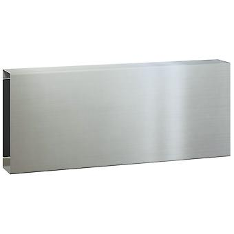 Serafini krant handel vierkante roestvast staal V4A 15 x 36 x 10 cm