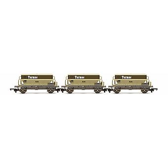 Hornby  PGA Hopper Wagons, Three Pack, Tarmac R6829