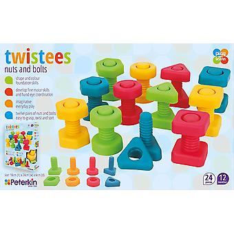 Twisties Play & Learn Nuts & Bolts - Preschool Toy