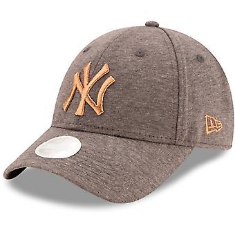 ニューエラ9フォーティウィメンズキャップ - ジャージーニューヨークヤンキースグラファイト