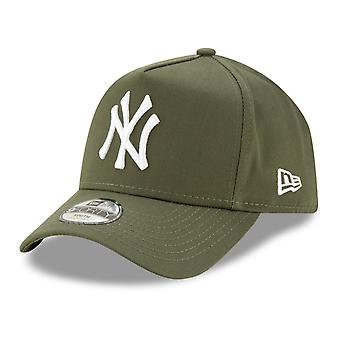 Nieuwe tijdperk Trucker Kids Cap-A-FRAME New York Yankees Olive