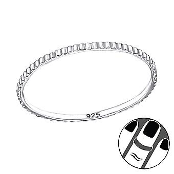 Band - 925 Sterling Silver Midi Rings - W23783X