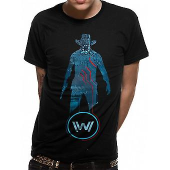 Westworld Adults Unisex Adults Man In Black T-Shirt