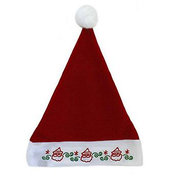 Seasons Greetings LED Light Up Christmas Santa Hat