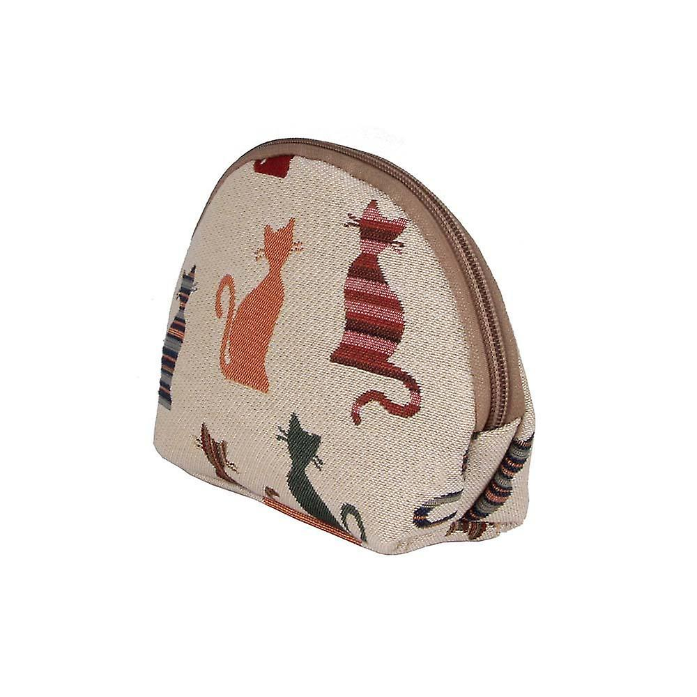 Cheeky cat cosmetic bag by signare tapestry / cosm-cheky