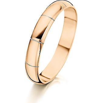 Jacob Jensen - Ring - Women - 41101-3.5-58RS - Arc - 58