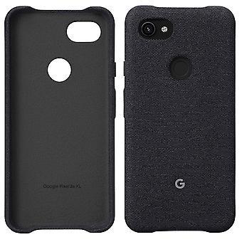 Couverture officielle de boîtier en tissu Google Pixel 3a XL - Carbone (GA00787)