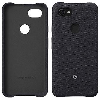 Official Google Pixel 3a XL Fabric Case Cover - Carbon (GA00787)