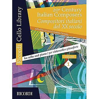 20th Century Italian Composers, Vol. 1: Cello and Piano