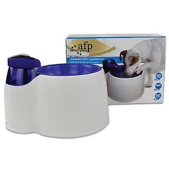All For Paws Interactive Fountain Fresh Pet Water Filter Bowl